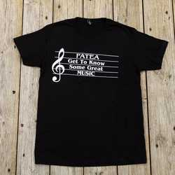 Fatea Magazine T-shirt Unisex - Get To Know Some Great Music