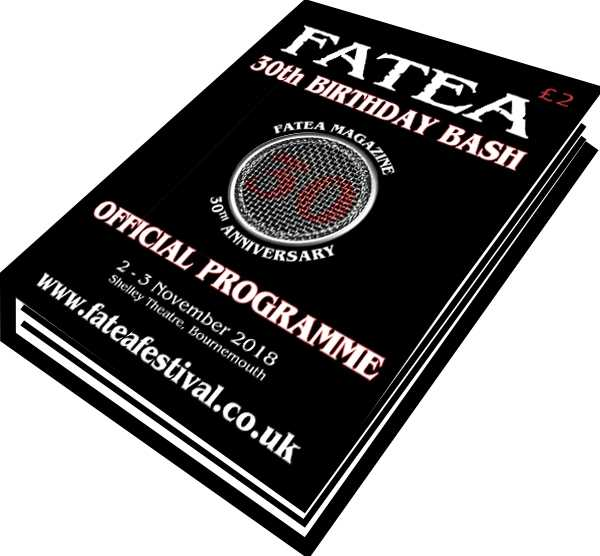 Fatea's Birthday Bash - Birthday Greeting in the Souvenir Programme